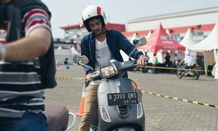 Test Ride Vespa IIMS 2018