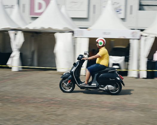 Test Ride Vespa IIMS 2018